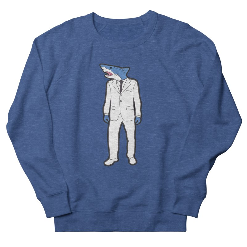 Shark Women's French Terry Sweatshirt by MarcPaperScissor's Artist Shop