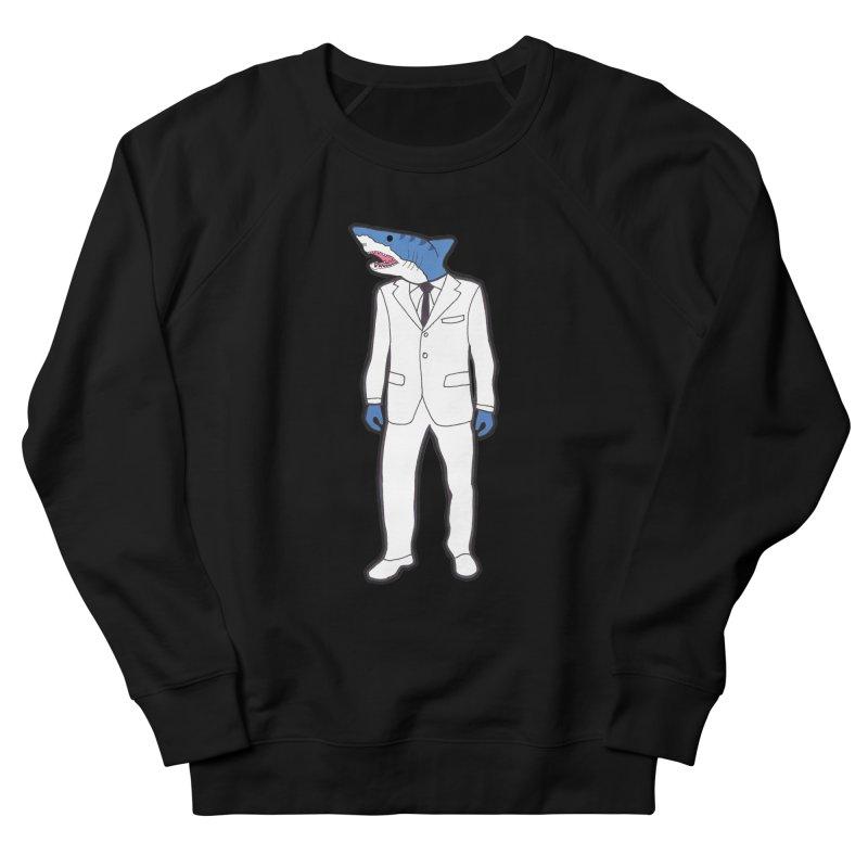 Shark Women's Sweatshirt by MarcPaperScissor's Artist Shop