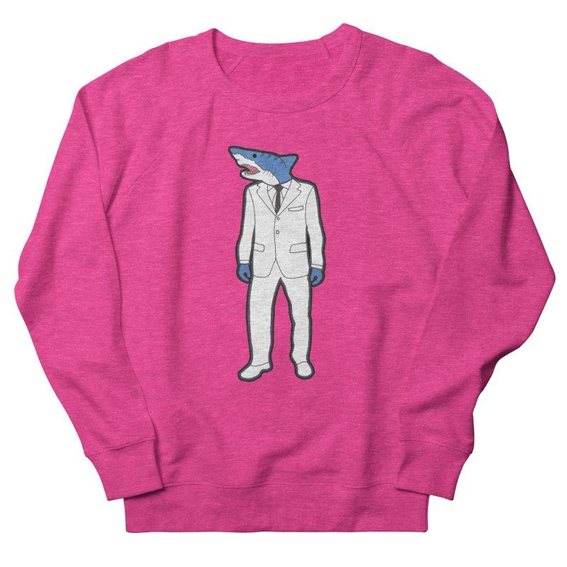 Shark Men's Sweatshirt by MarcPaperScissor's Artist Shop