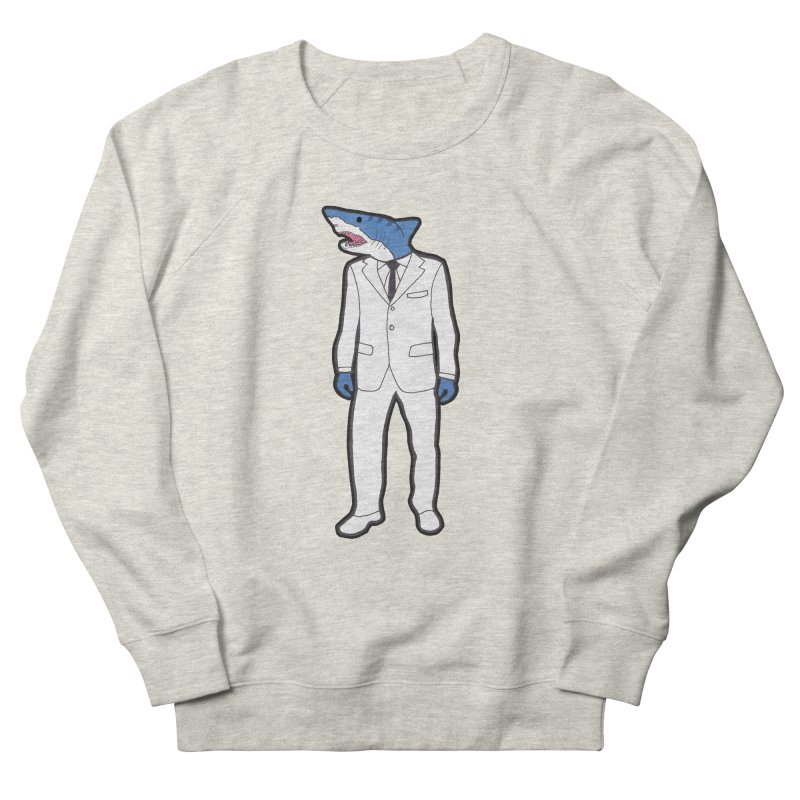 Shark Men's Sweatshirt by MarcPaperScissor's Artist Shop