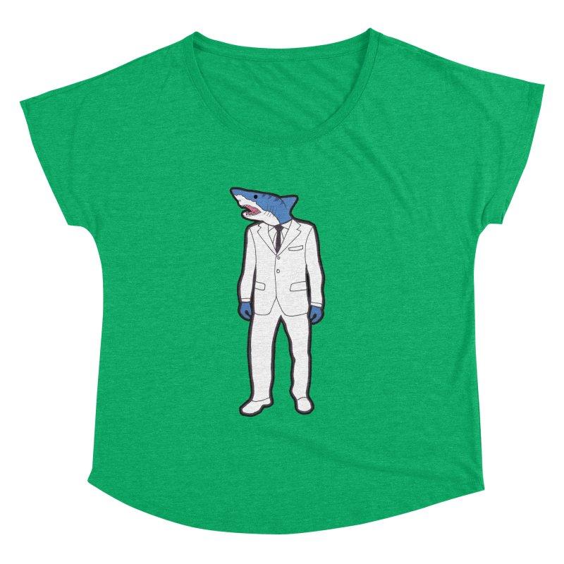 Shark Women's Dolman by MarcPaperScissor's Artist Shop