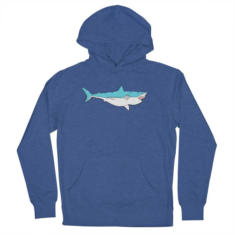 The Great Shark Women's Pullover Hoody by MarcPaperScissor's Artist Shop
