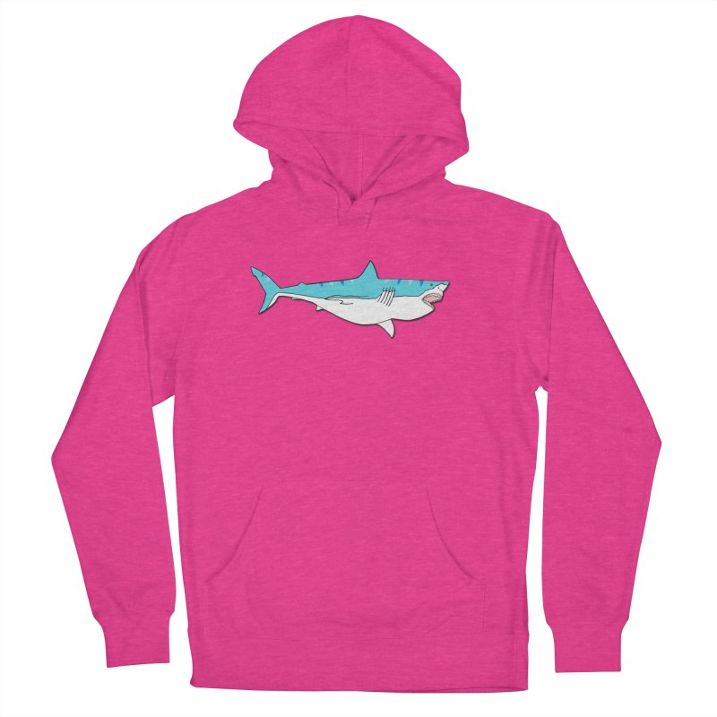 The Great Shark Women's Pullover Hoody by MarcPaperScissor's Artist Shop