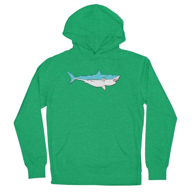 The Great Shark Men's Pullover Hoody by MarcPaperScissor's Artist Shop