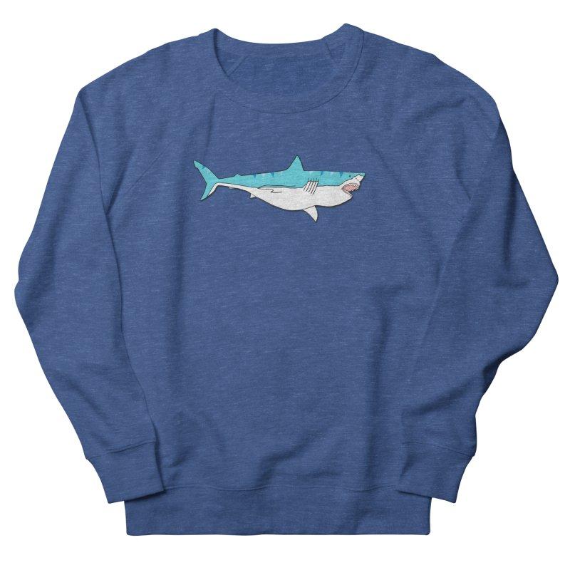 The Great Shark Women's Sweatshirt by MarcPaperScissor's Artist Shop