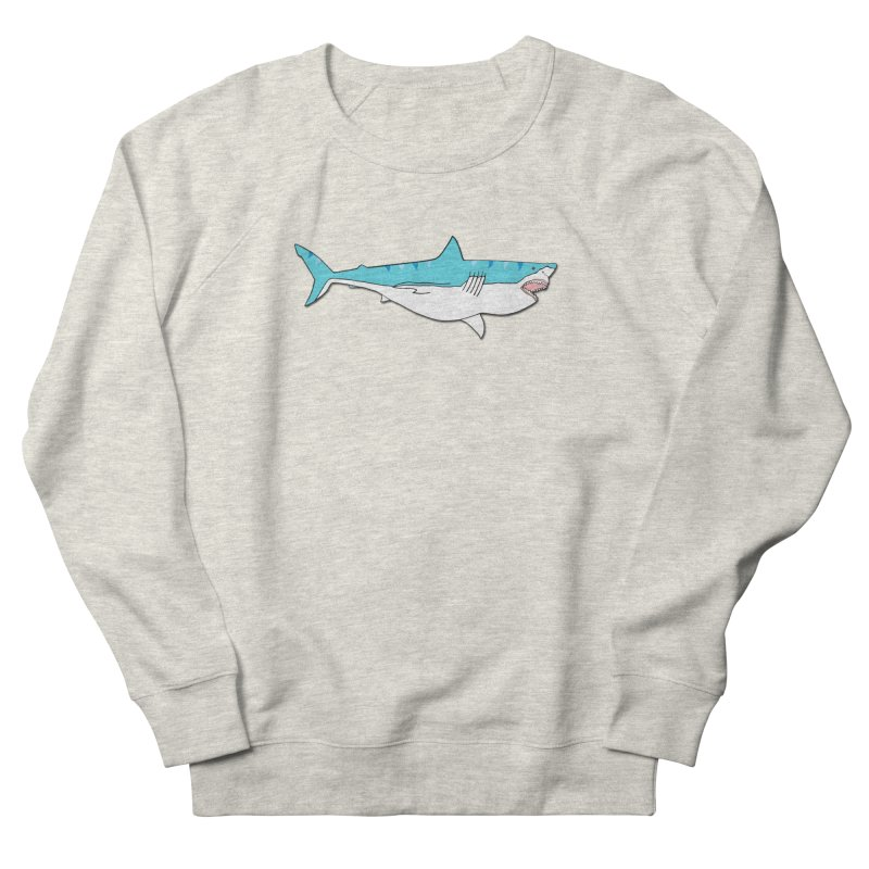 The Great Shark Men's Sweatshirt by MarcPaperScissor's Artist Shop