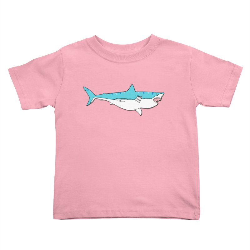 The Great Shark Kids Toddler T-Shirt by MarcPaperScissor's Artist Shop
