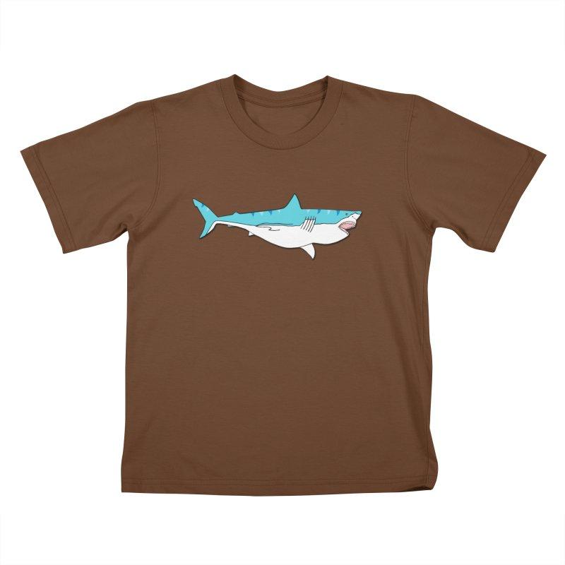 The Great Shark Kids T-Shirt by MarcPaperScissor's Artist Shop