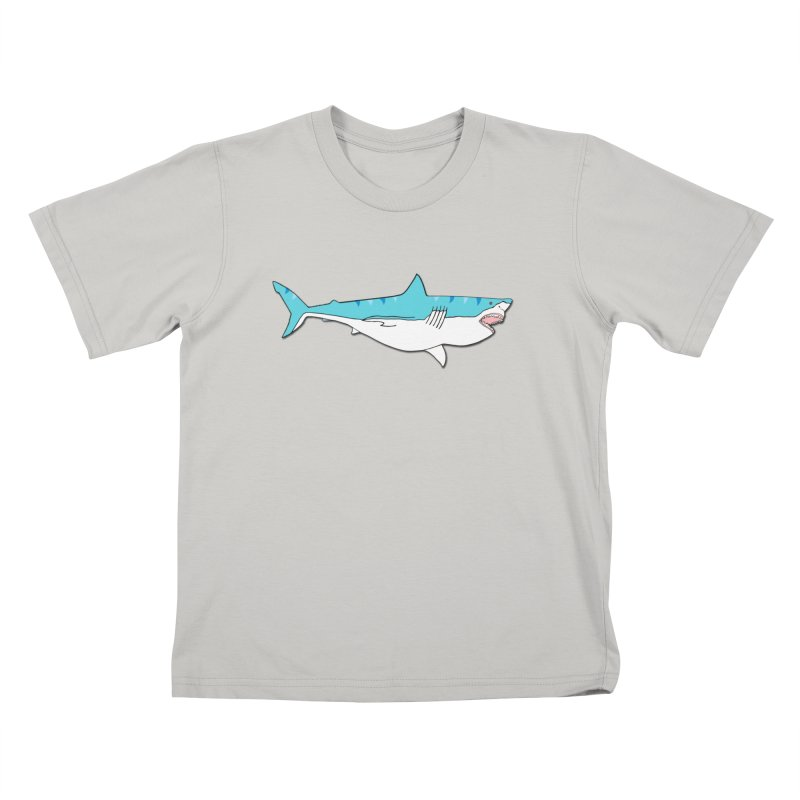 The Great Shark Kids T-shirt by MarcPaperScissor's Artist Shop
