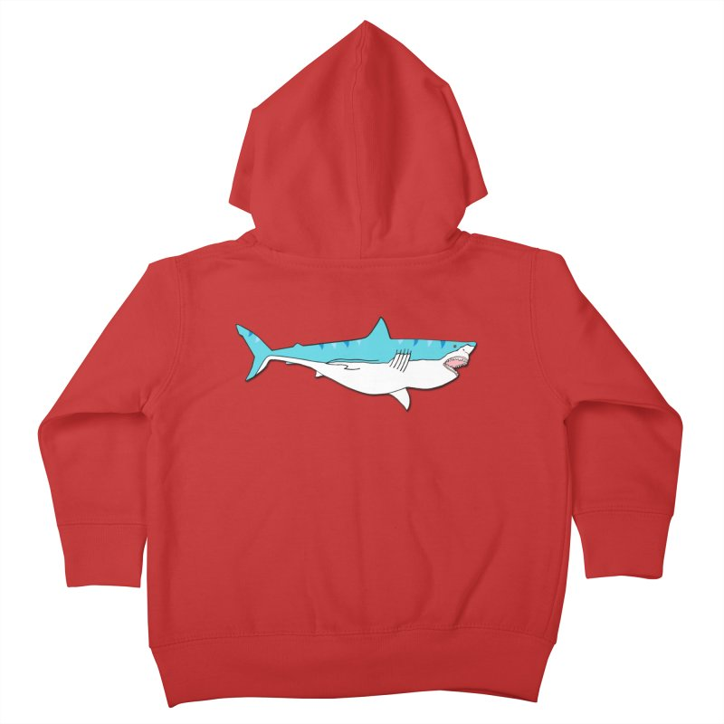 The Great Shark Kids Toddler Zip-Up Hoody by MarcPaperScissor's Artist Shop