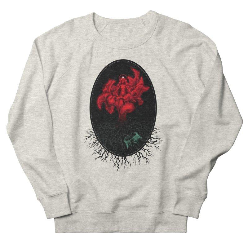 Red Goddess Women's Sweatshirt by Mar del Valle's Artist Shop