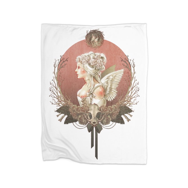 Bianca des Anges Home Blanket by Mar del Valle's Artist Shop