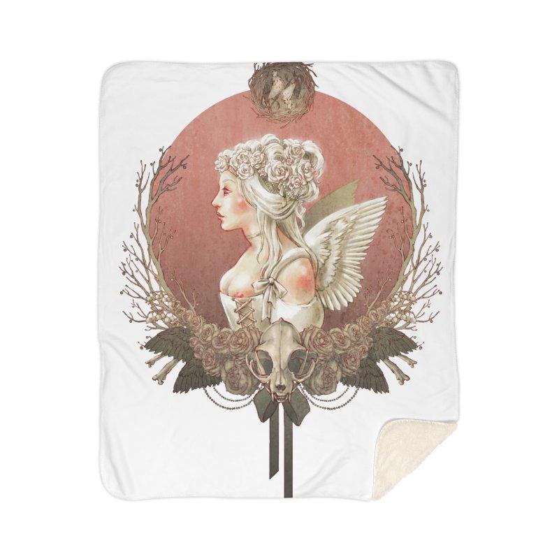 Bianca des Anges Home Sherpa Blanket Blanket by Mar del Valle's Artist Shop