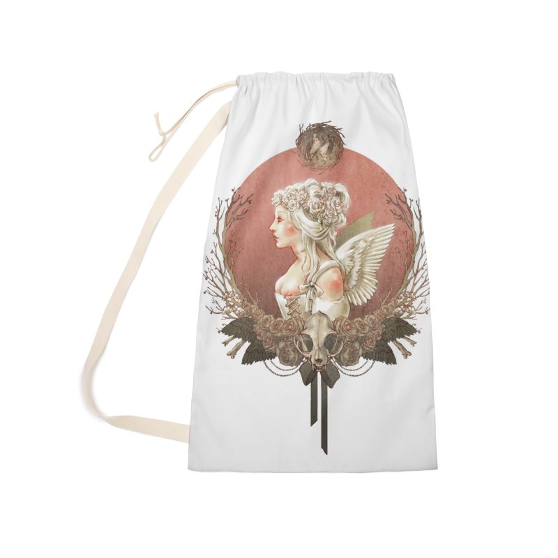 Bianca des Anges Accessories Laundry Bag Bag by Mar del Valle's Artist Shop