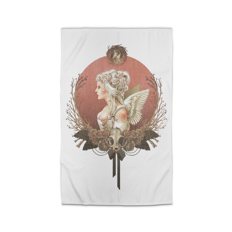 Bianca des Anges Home Rug by Mar del Valle's Artist Shop