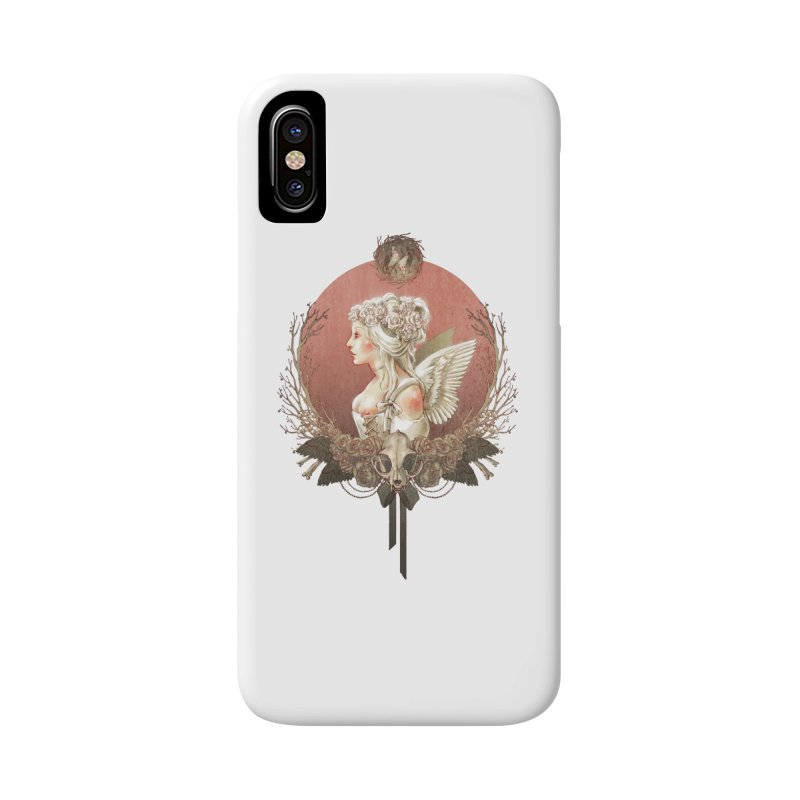 Bianca des Anges Accessories Phone Case by Mar del Valle's Artist Shop