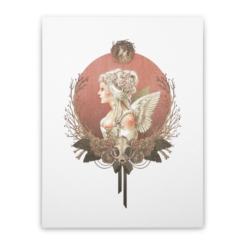 Bianca des Anges Home Stretched Canvas by Mar del Valle's Artist Shop