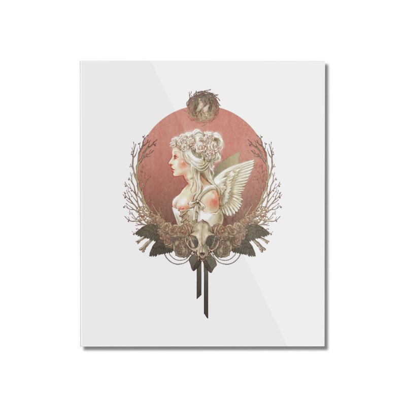 Bianca des Anges Home Mounted Acrylic Print by Mar del Valle's Artist Shop