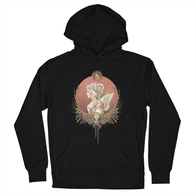 Bianca des Anges Men's Pullover Hoody by Mar del Valle's Artist Shop