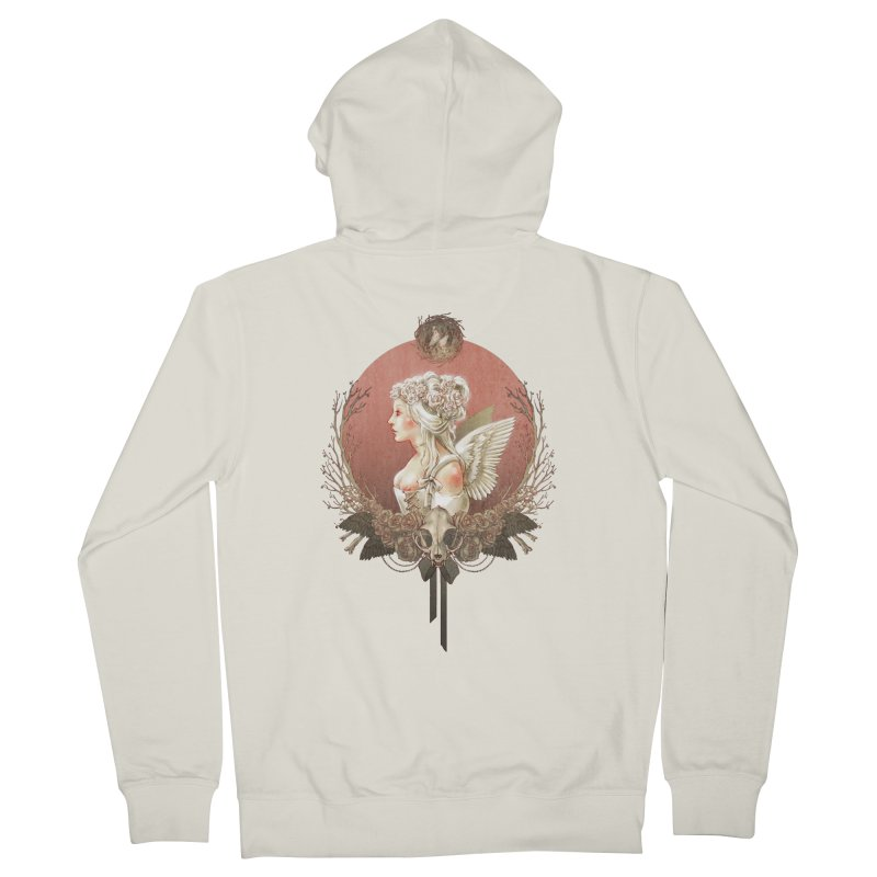 Bianca des Anges Women's Zip-Up Hoody by Mar del Valle's Artist Shop