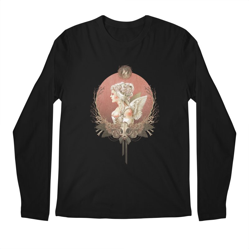 Bianca des Anges Men's Longsleeve T-Shirt by Mar del Valle's Artist Shop