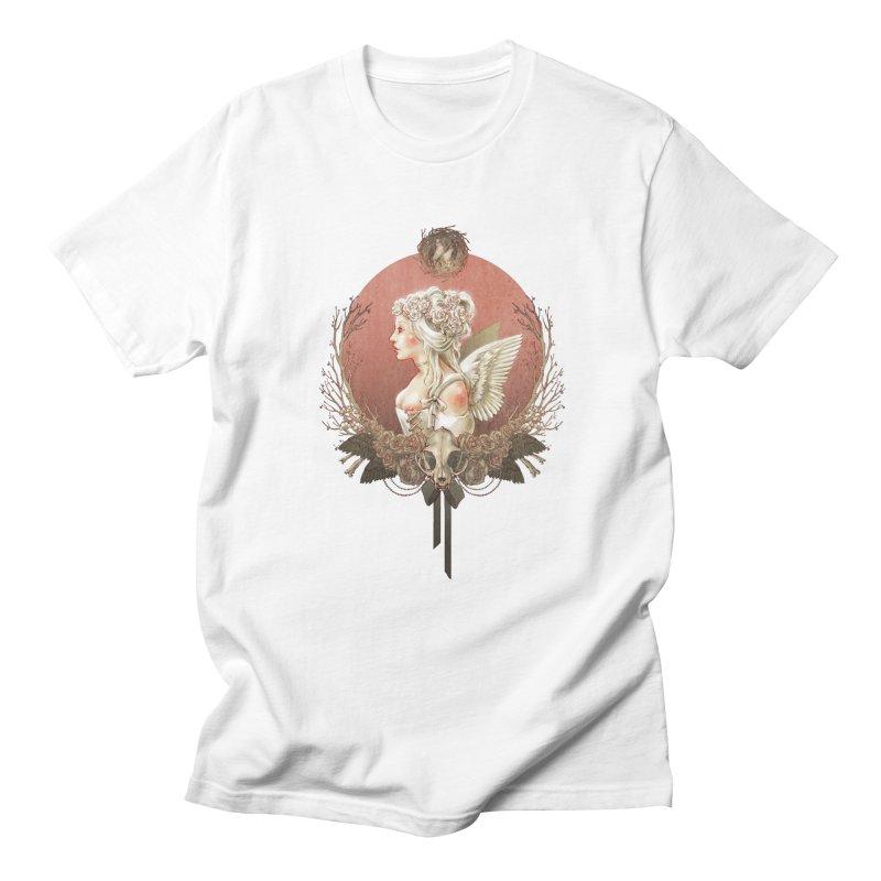 Bianca des Anges Men's T-shirt by Mar del Valle's Artist Shop