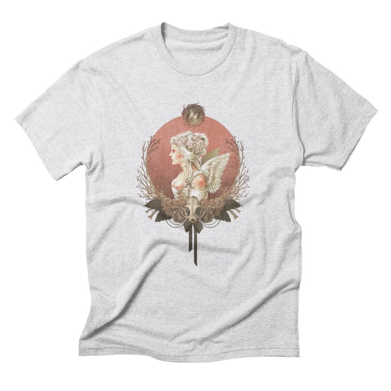 Bianca des Anges Men's Triblend T-shirt by Mar del Valle's Artist Shop