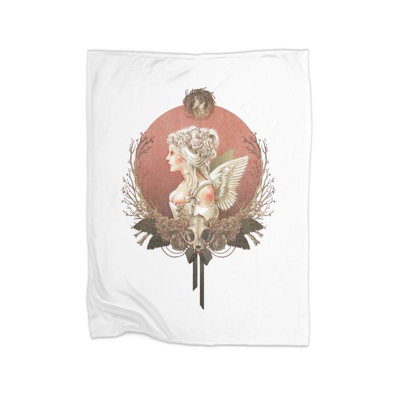 Bianca des Anges Home Blanket by Mar del Valle's Artist Shop