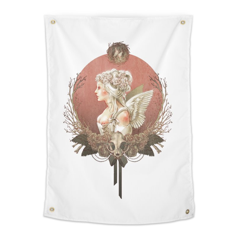 Bianca des Anges Home Tapestry by Mar del Valle's Artist Shop