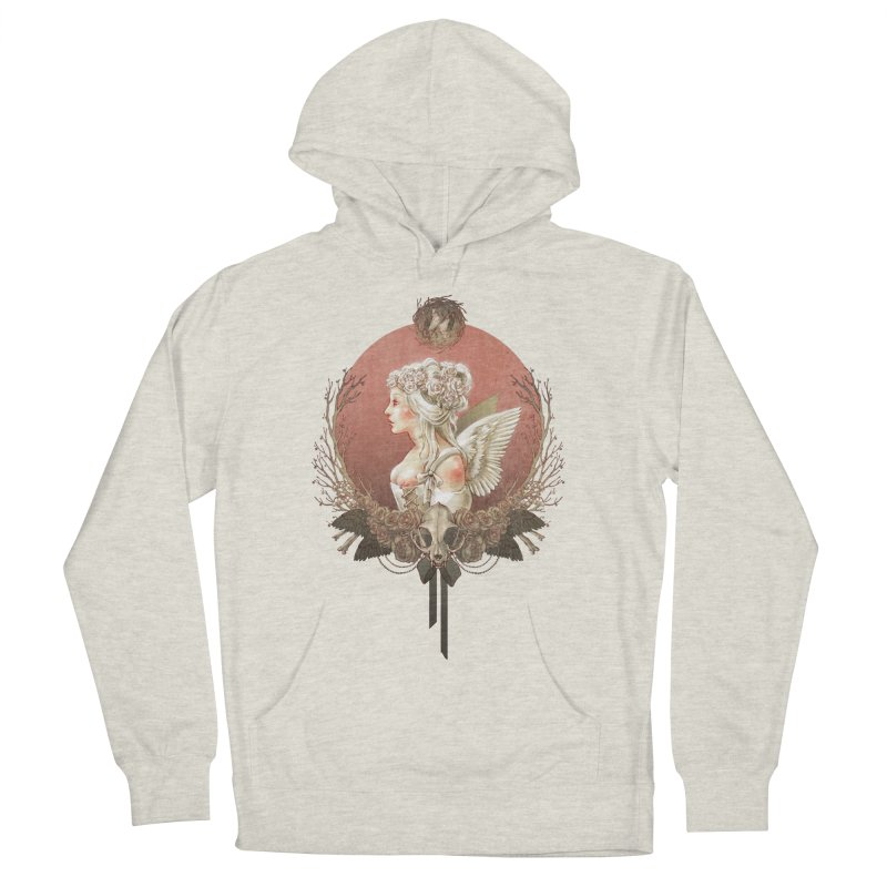 Bianca des Anges Women's Pullover Hoody by Mar del Valle's Artist Shop