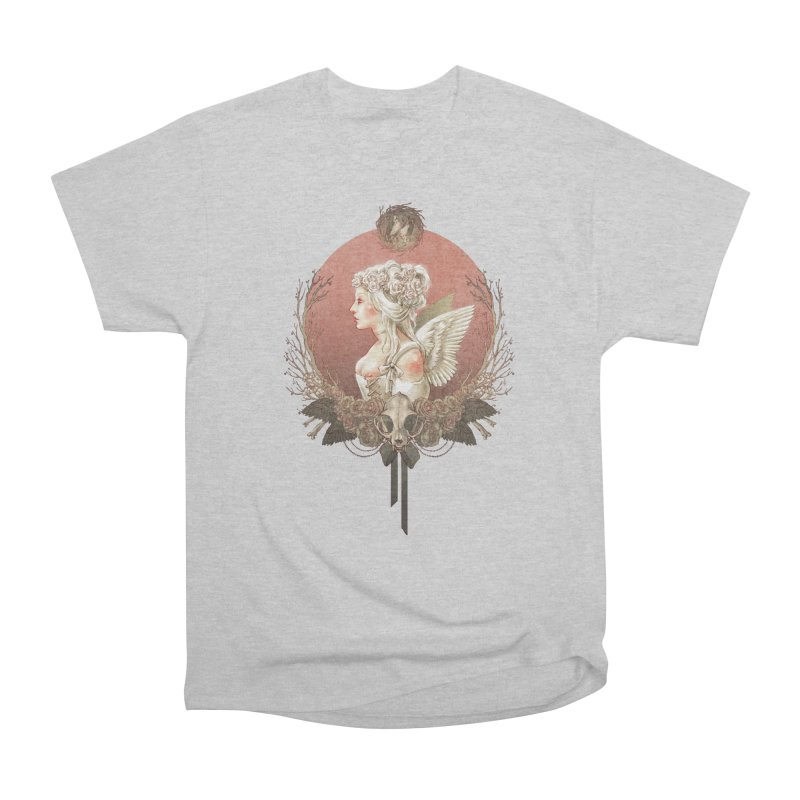 Bianca des Anges Women's Heavyweight Unisex T-Shirt by Mar del Valle's Artist Shop