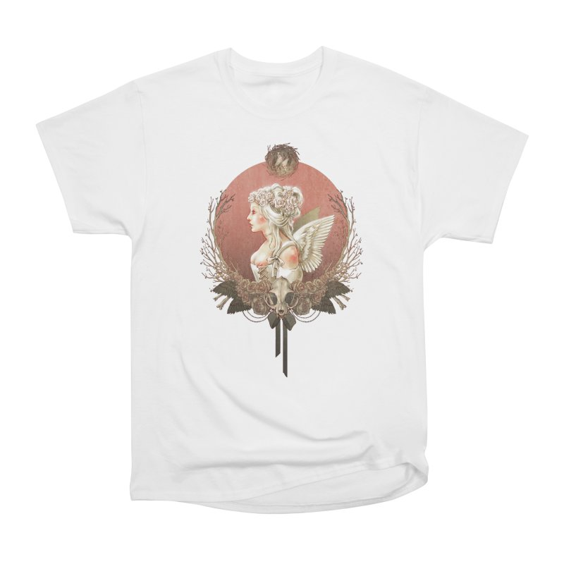 Bianca des Anges Women's Heavyweight Unisex T-Shirt by Mar del Valle's Artist Shop