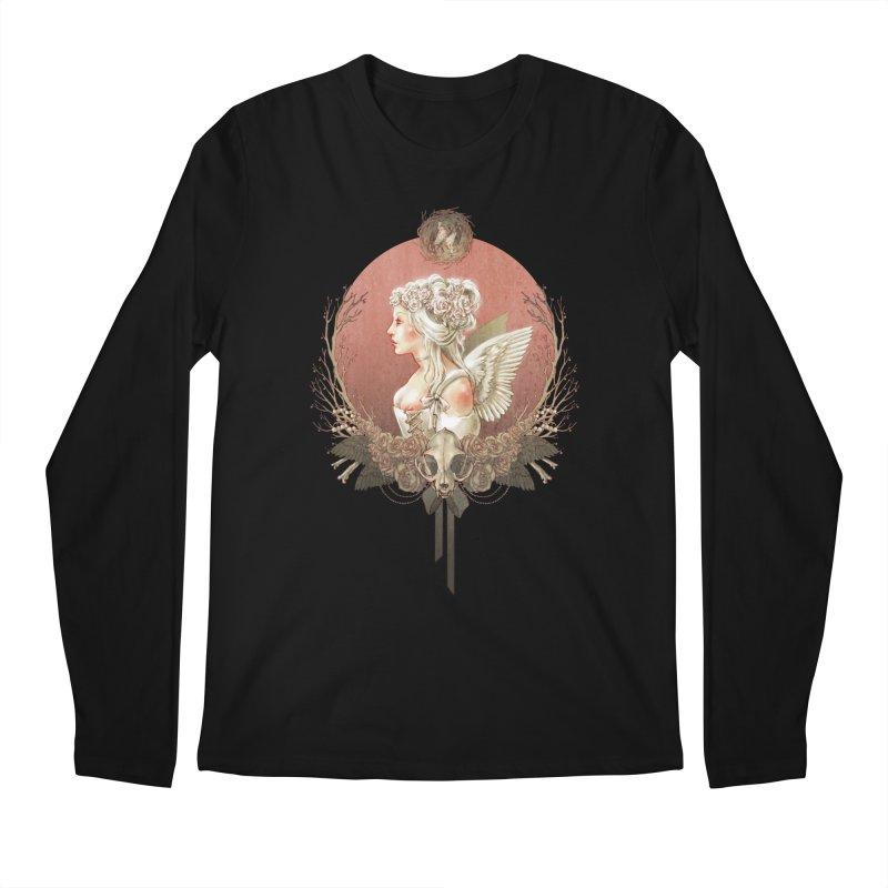 Bianca des Anges Men's Longsleeve T-Shirt by Mar del Valle's Artist Shop