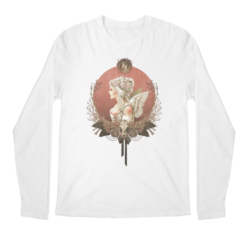 Bianca des Anges Men's Regular Longsleeve T-Shirt by Mar del Valle's Artist Shop