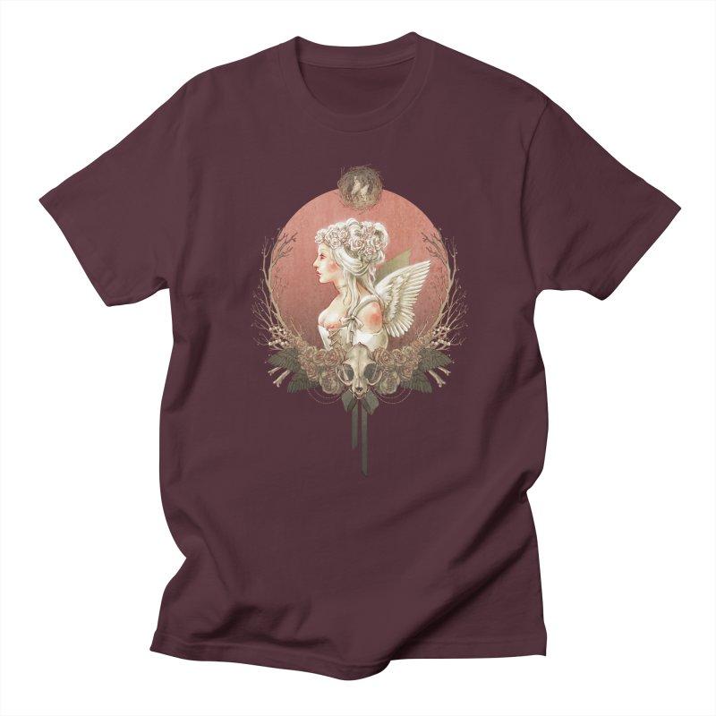 Bianca des Anges Men's Regular T-Shirt by Mar del Valle's Artist Shop
