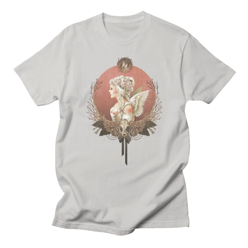Bianca des Anges Men's T-Shirt by Mar del Valle's Artist Shop