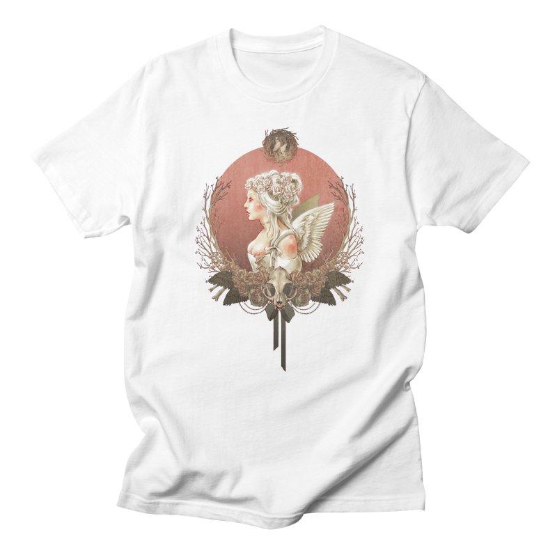 Bianca des Anges Women's Unisex T-Shirt by Mar del Valle's Artist Shop