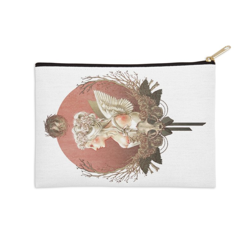 Bianca des Anges Accessories Zip Pouch by Mar del Valle's Artist Shop