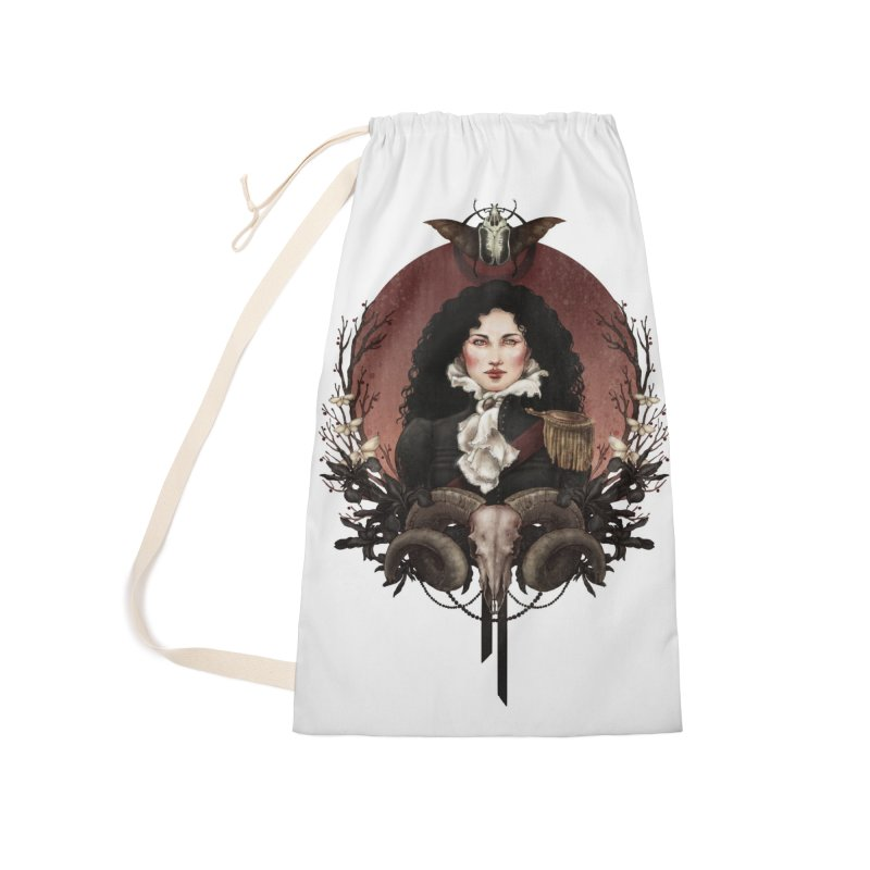 Imperatrice Accessories Laundry Bag Bag by Mar del Valle's Artist Shop