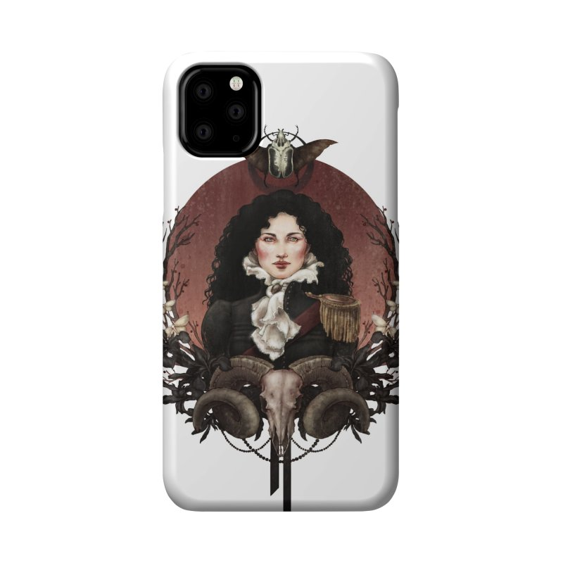 Imperatrice Accessories Phone Case by Mar del Valle's Artist Shop