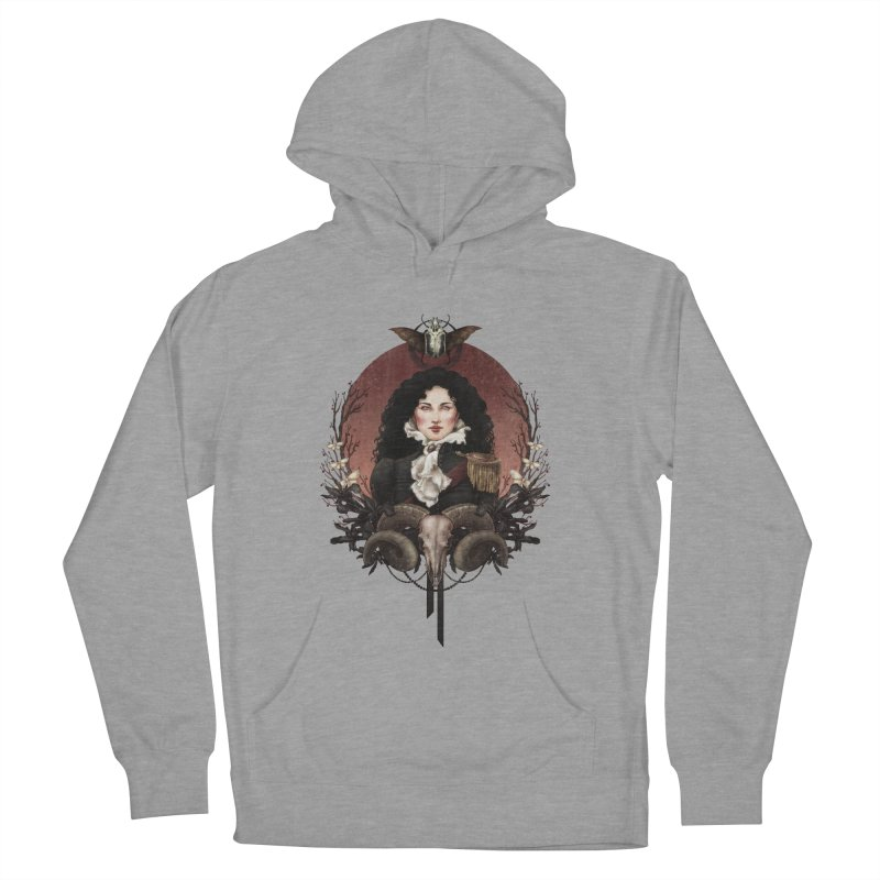 Imperatrice Women's Pullover Hoody by Mar del Valle's Artist Shop