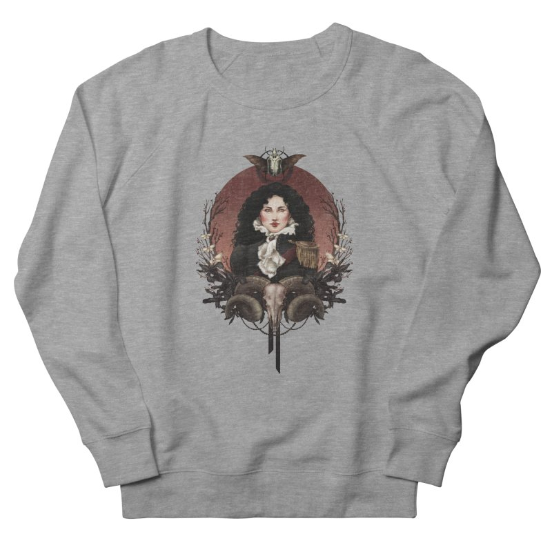 Imperatrice Men's Sweatshirt by Mar del Valle's Artist Shop