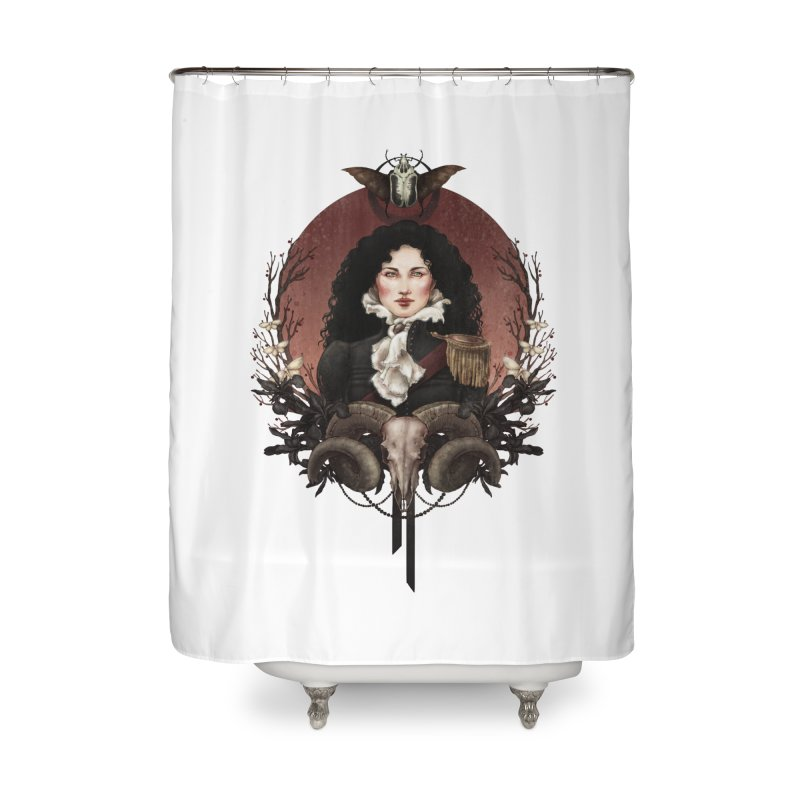 Imperatrice Home Shower Curtain by Mar del Valle's Artist Shop