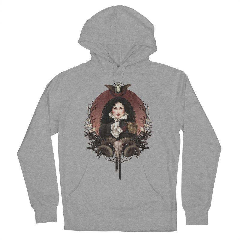 Imperatrice Men's Pullover Hoody by Mar del Valle's Artist Shop
