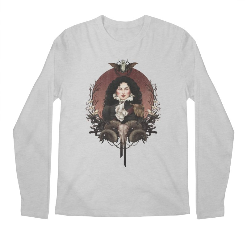 Imperatrice Men's Regular Longsleeve T-Shirt by Mar del Valle's Artist Shop