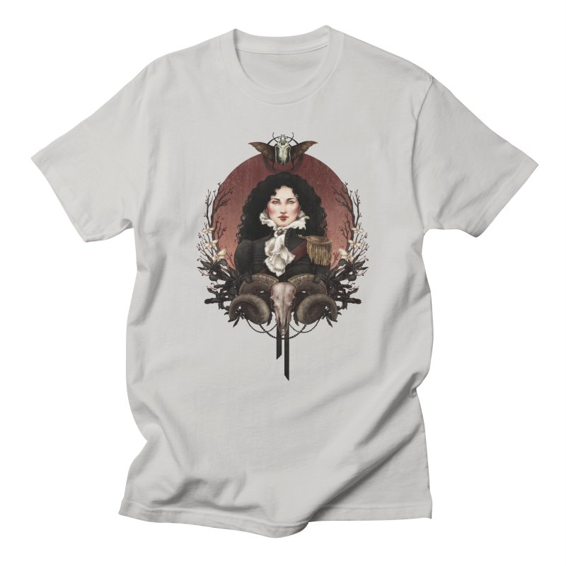 Imperatrice Men's Regular T-Shirt by Mar del Valle's Artist Shop