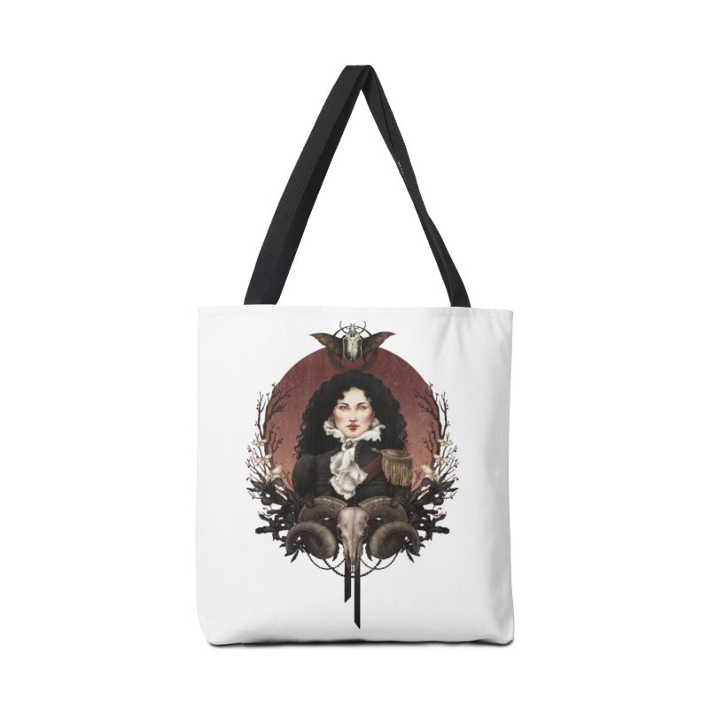 Imperatrice Accessories Tote Bag Bag by Mar del Valle's Artist Shop