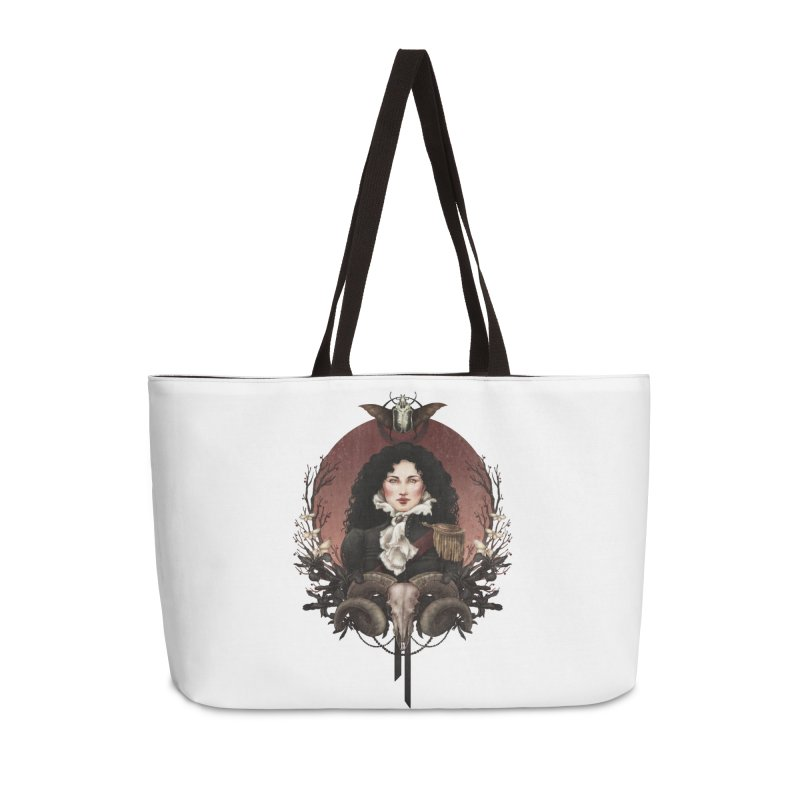 Imperatrice Accessories Weekender Bag Bag by Mar del Valle's Artist Shop