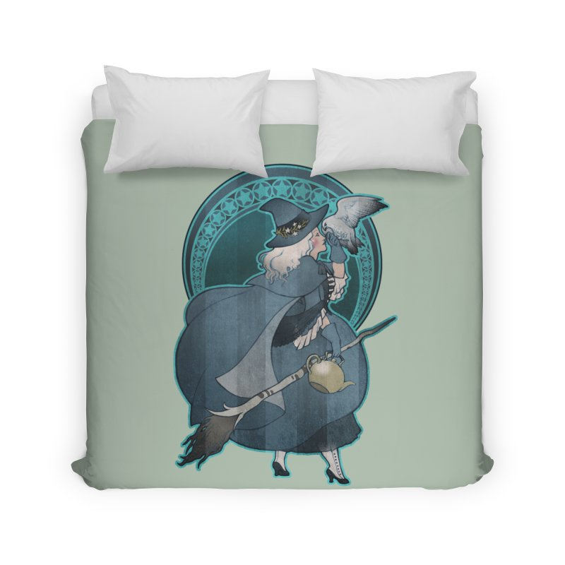 The White Witch Home Duvet by Mar del Valle's Artist Shop
