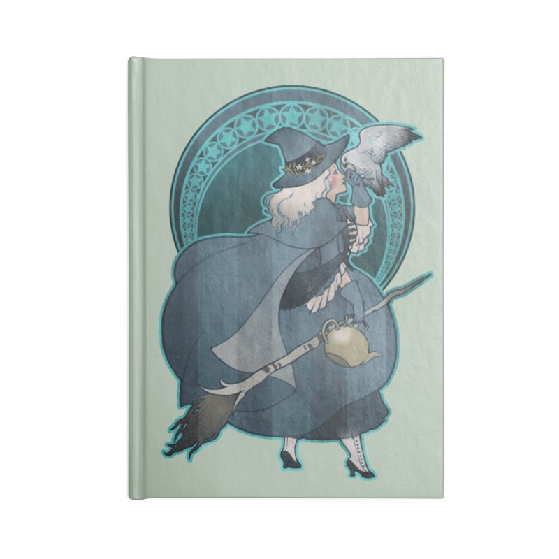 The White Witch Accessories Lined Journal Notebook by Mar del Valle's Artist Shop